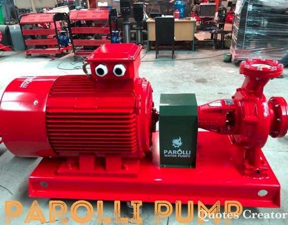 Máy bơm Điện 150HP Parolli PS 125 - 250/1100 ( trục rời )