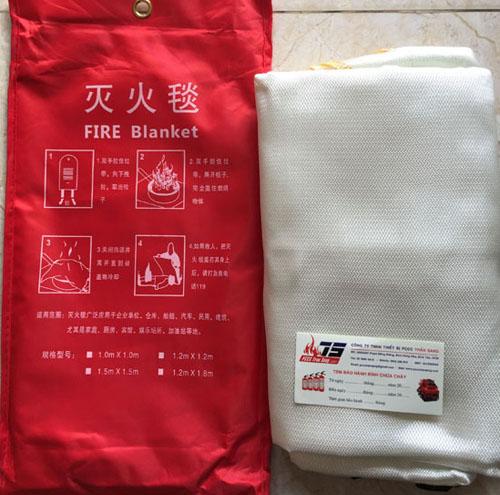 Mền chống cháy 1.8 m x 1.8m- China