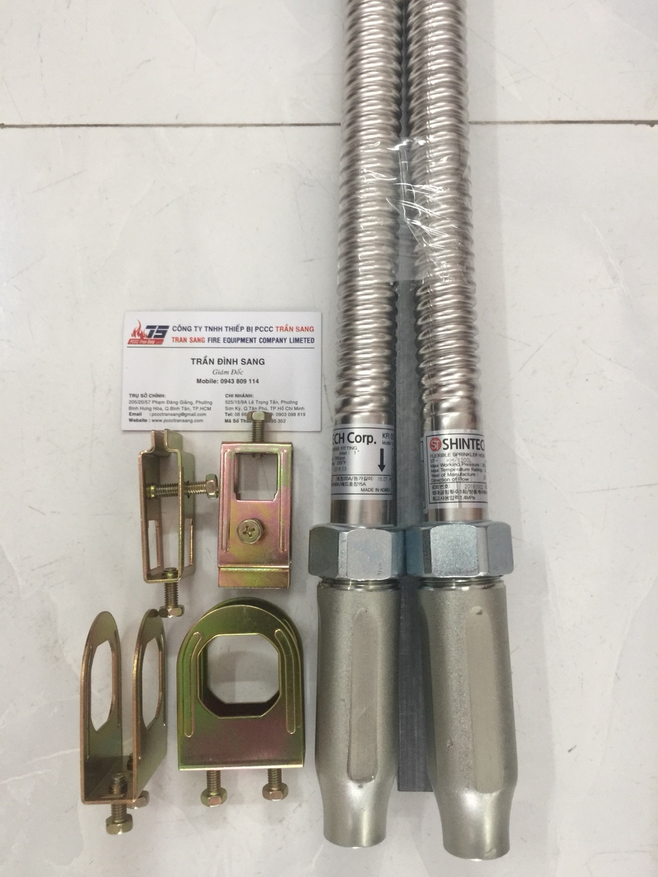 Ống nối mềm 1000mm- ShinTech/Korea