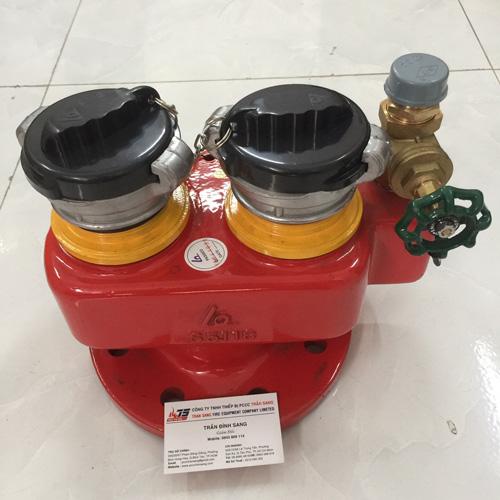 Trụ tiếp nước 2 cửa DN100, FHFA 2x DN65-0100-16-D2R- Shin Yi/Việt Nam
