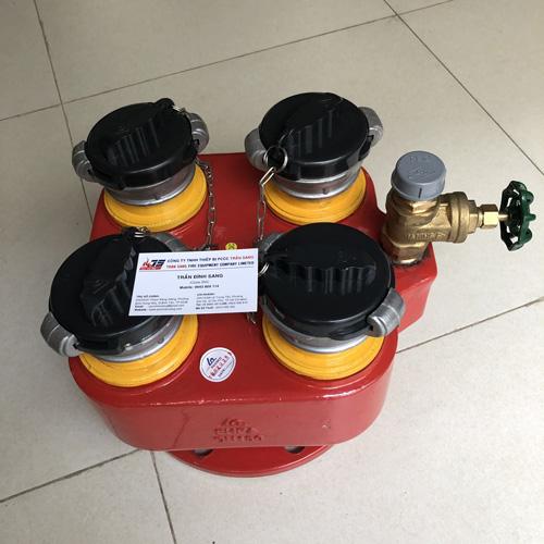 Trụ tiếp nước 4 cửa DN150, FHFA 4x DN65- Shin Yi/Việt Nam