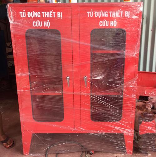 Tủ chữa cháy trong nhà 450x650x220, Thép 1mm- Việt Nam, đặt hàng