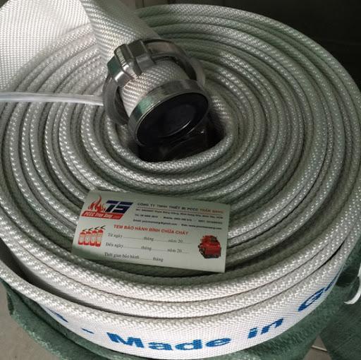 Vòi chữa cháy D50, 14bar, 20m, khớp nhôm TCVN, Canatech/Malaysia
