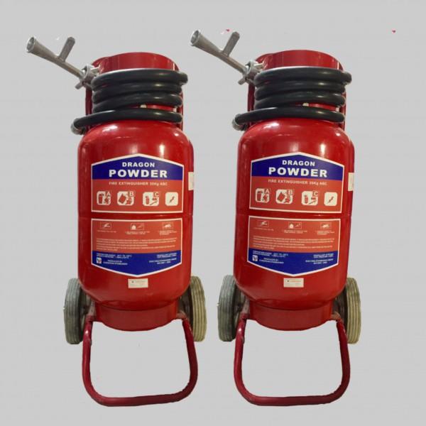 Xe đẩy chữa cháy Dragon Powder MFTZL35