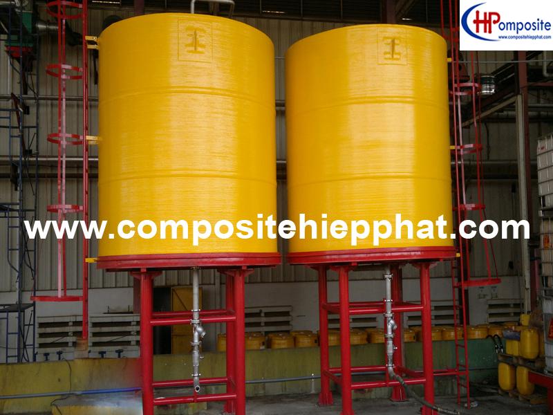 Bể composite chứa hóa chất