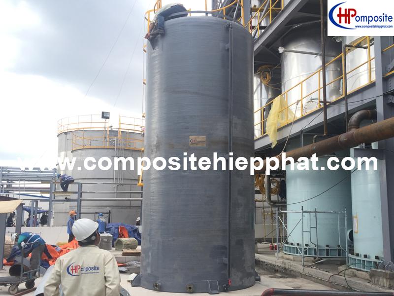 Bồn Composite chứa hóa chất Javen