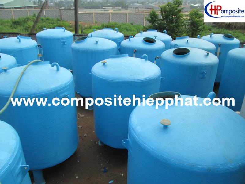 Bồn composite chứa muối