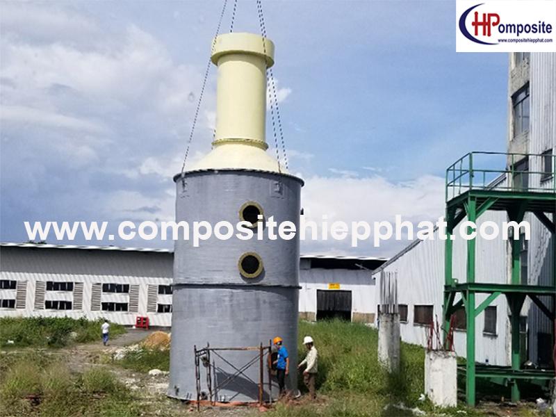Tháp composite FRP xử lý khí