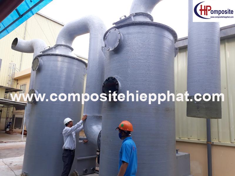 Tháp nhựa composite xử lý khí