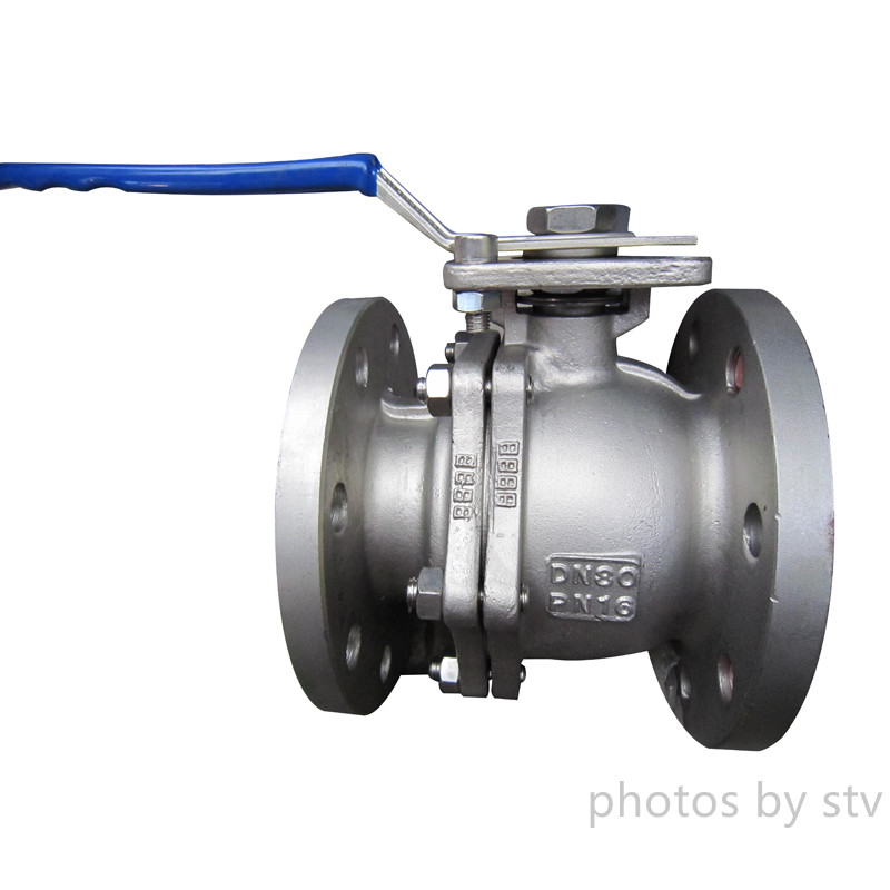 CF8 Investment Casting Type Ball Valves ,with PN16,150LB,JIS10K