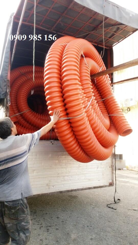 Mua ống nhựa xoắn hdpe - ống ruột gà luồn cáp điện