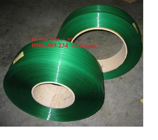 Dây đai PET (Polyester) / dây đai pallet