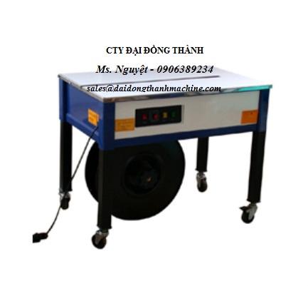 Máy đai niềng thùng bán tự động EX102 - thùng hở