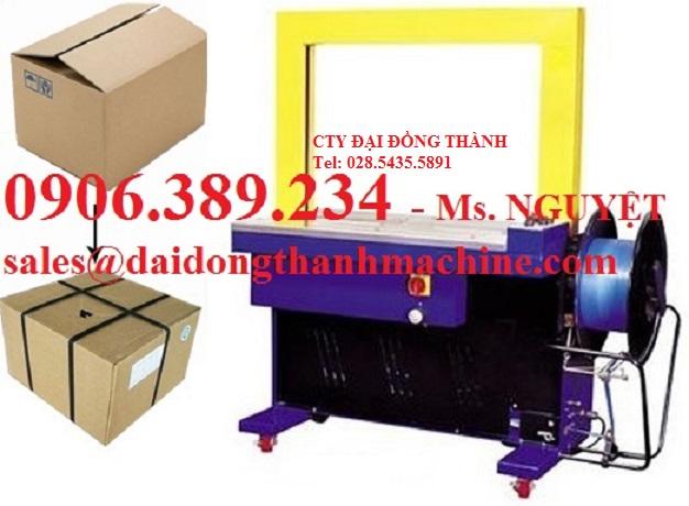 Máy đai niềng thùng tự động giá rẻ Hà Nội, Hải Phòng, Hải Dương