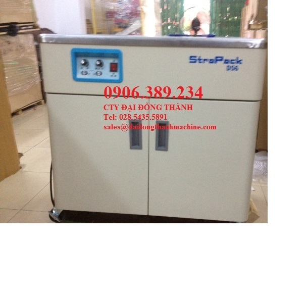 Máy đóng đai nhựa bán tự động D56 Strapack