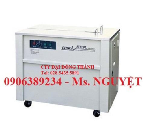 Máy đóng đai nhựa bán tự động hàn nhiệt Chali JN740 giá rẻ Bình Dương