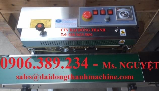 Máy ép miệng túi liên tục DBF-770 giá rẻ toàn quốc
