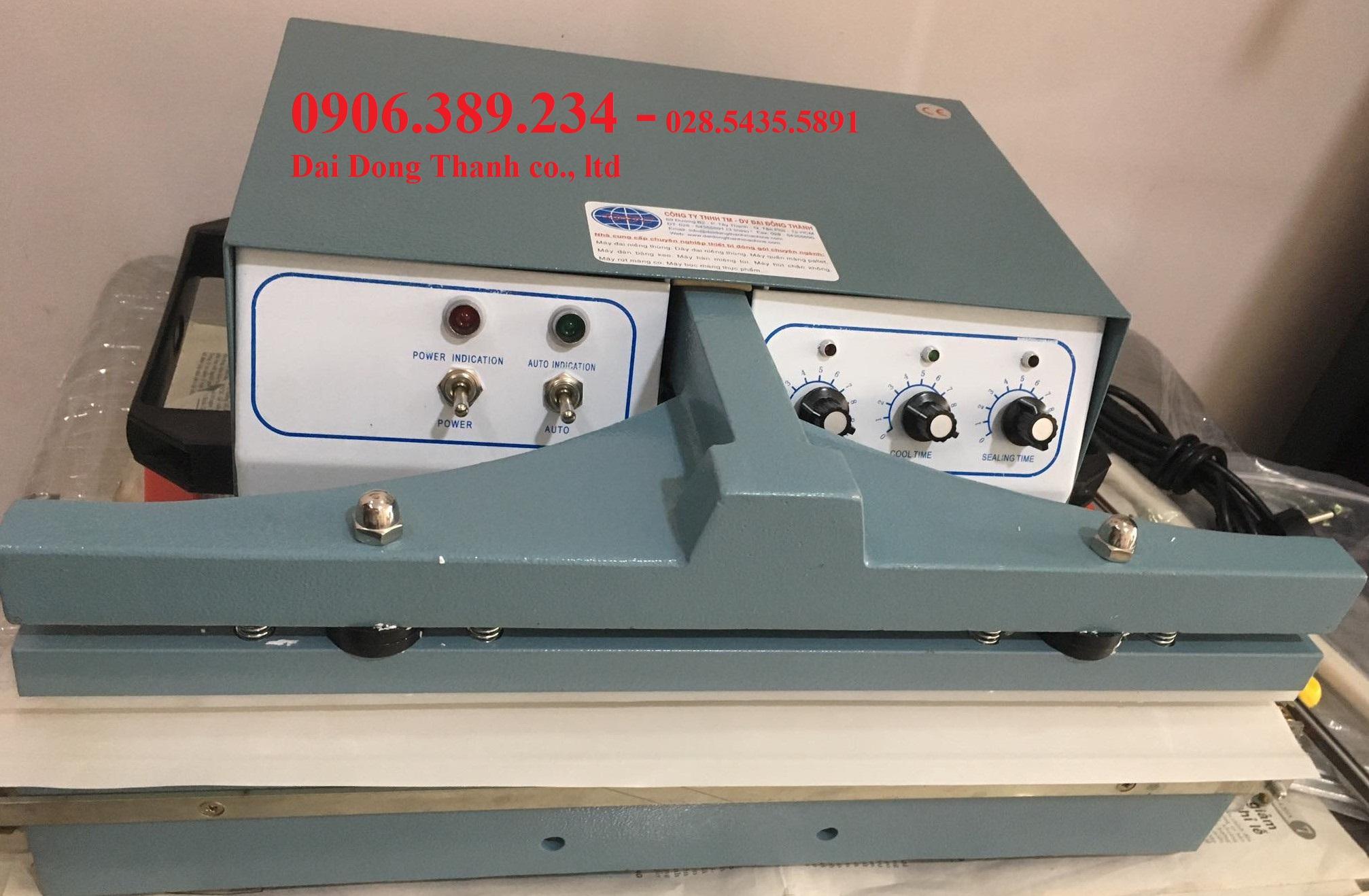 Máy hàn miệng bao bán tự động PS-600 hàng có sẵn