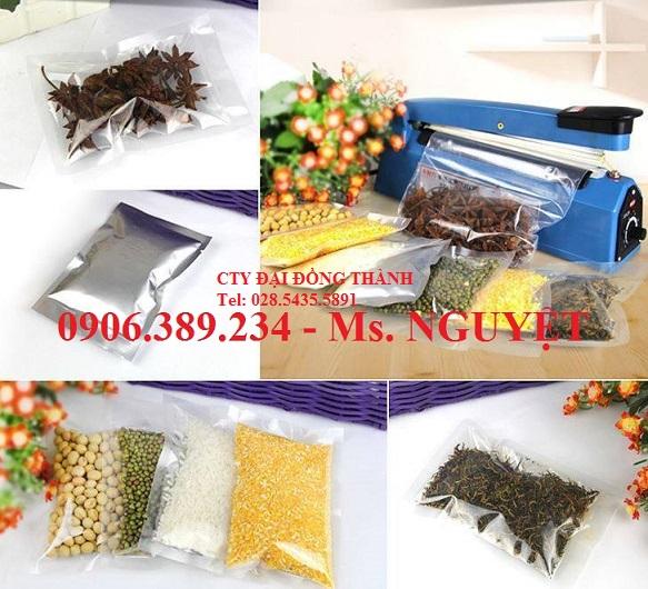 Máy Hàn miệng túi bánh kẹo, cafe, trà, nông sản rau quả