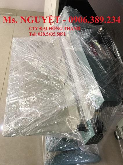 Máy hàn miệng túi dập chân PFS-600