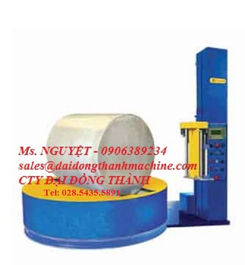 Máy quấn Màng pallet dạng Cuộn tự động WP57 Wellpack Taiwan giá rẻ Đồng Nai, HCM, Hà Nội