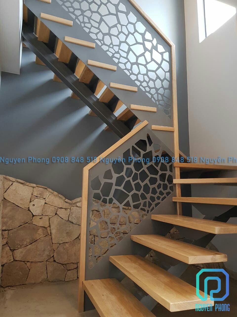 20 mẫu cầu thang cắt CNC sang trọng là xu hướng xây dựng cho năm 2021
