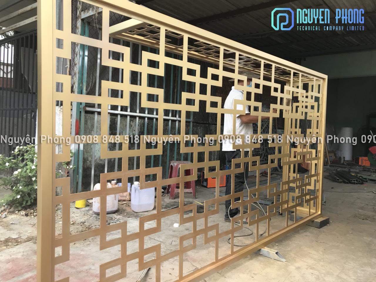 Cung cấp, thi công hoàn thiện trọn gói cổng, lan can, hàng rào, vách ngăn sắt CNC, sắt uốn mỹ thuật