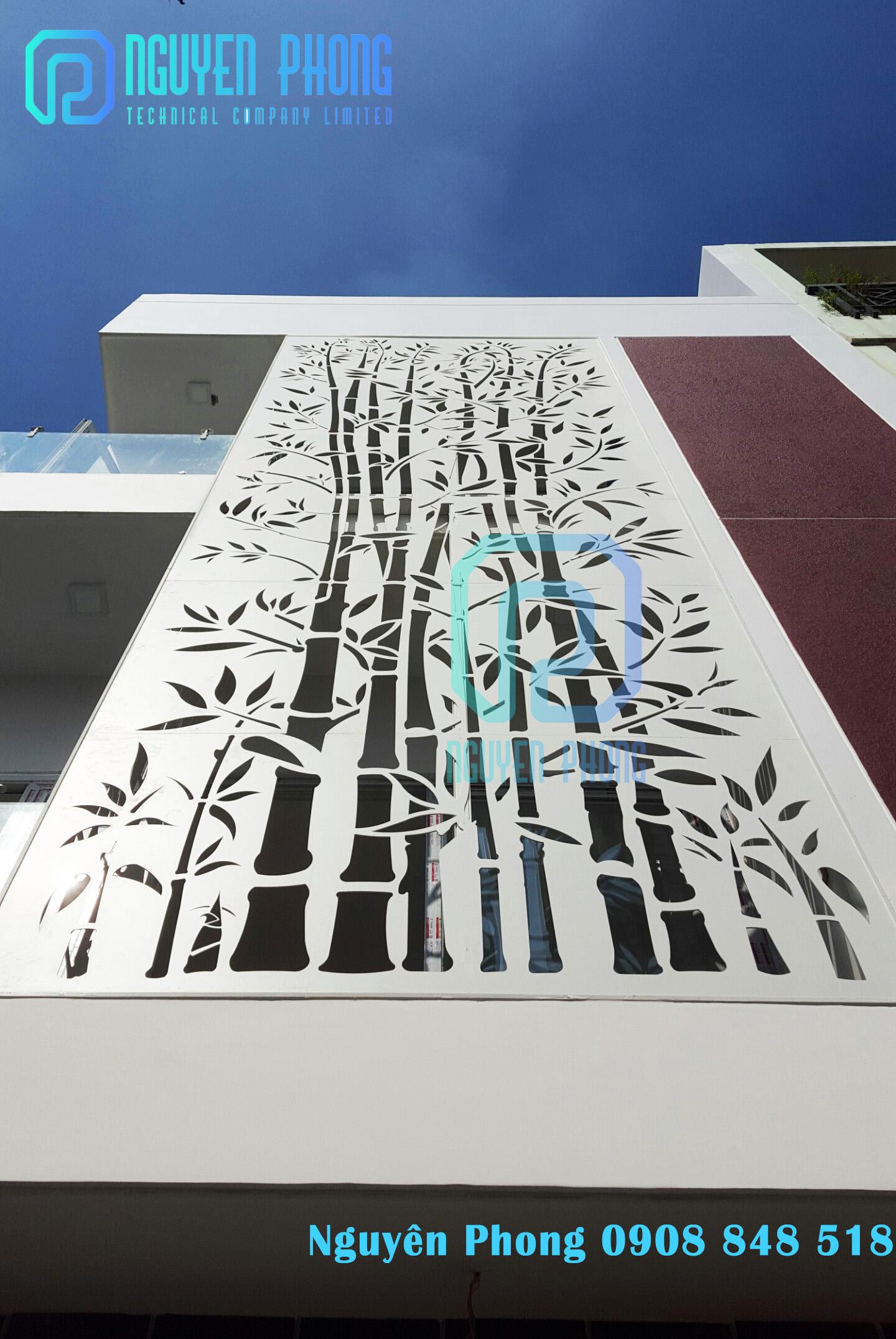 Mặt dựng CNC cho công trình - xu hướng trang trí ngoại thất mới nhất 2020