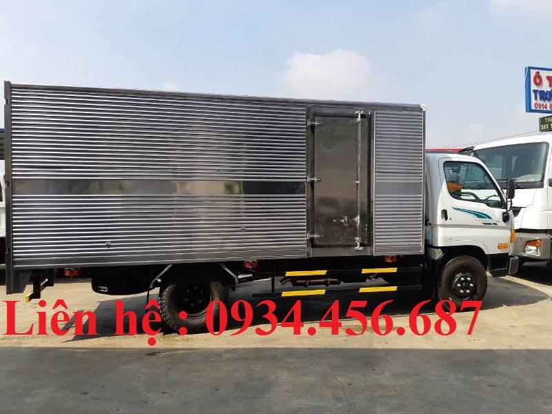 Bán xe Hyundai 110sp 7 tấn thùng kín ở Bắc Giang