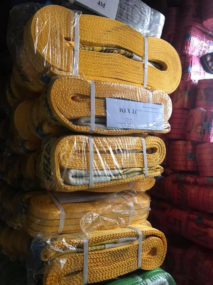 Cáp vải cẩu hàng các tải trọng