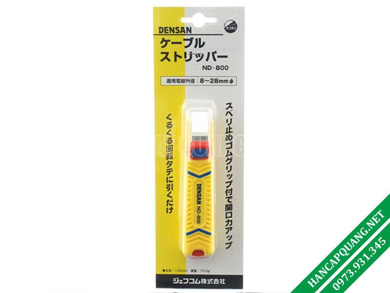 Dao rọc vỏ cáp quang Densan ND-800