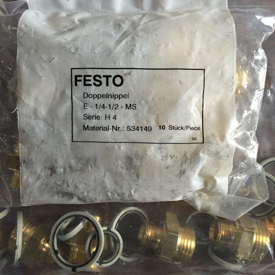 Đầu nối FESTO E-1/4-1/2-MS 534149