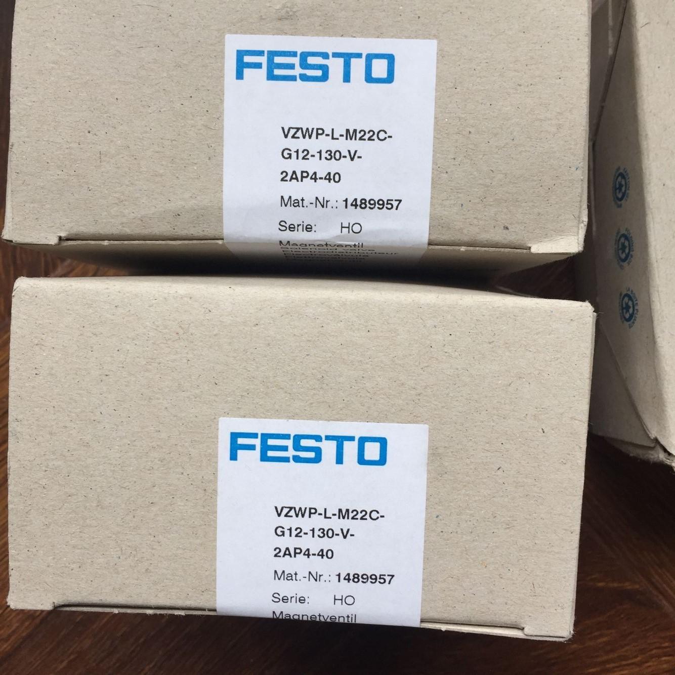 FESTO VZWP-L-M22C-G12-130-V-2AP4-40 1489957