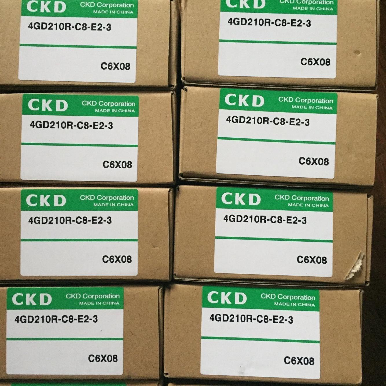 Van điện từ CKD 4GD210R-C8-E2-3