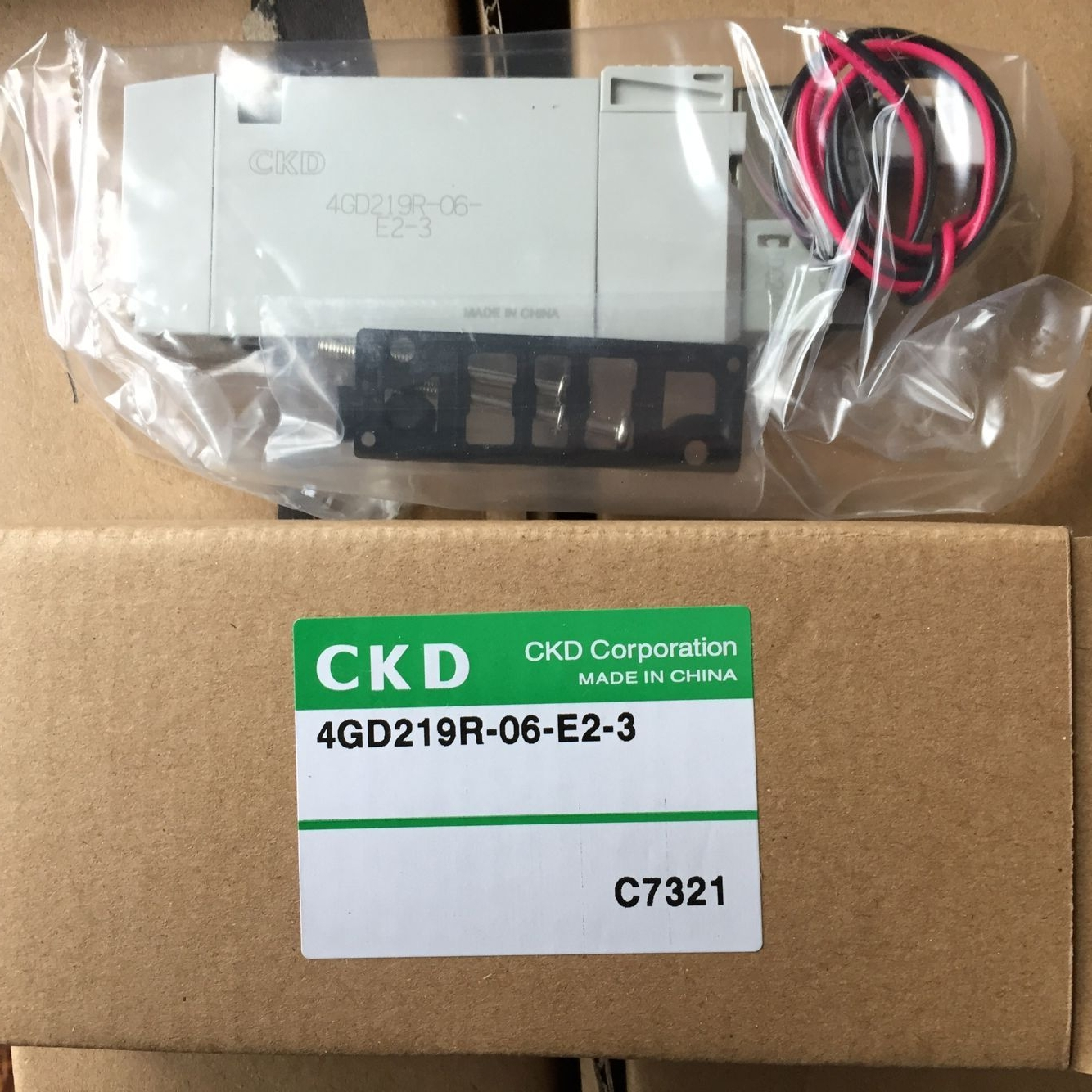Van điện từ CKD 4GD219R-06-E2-3