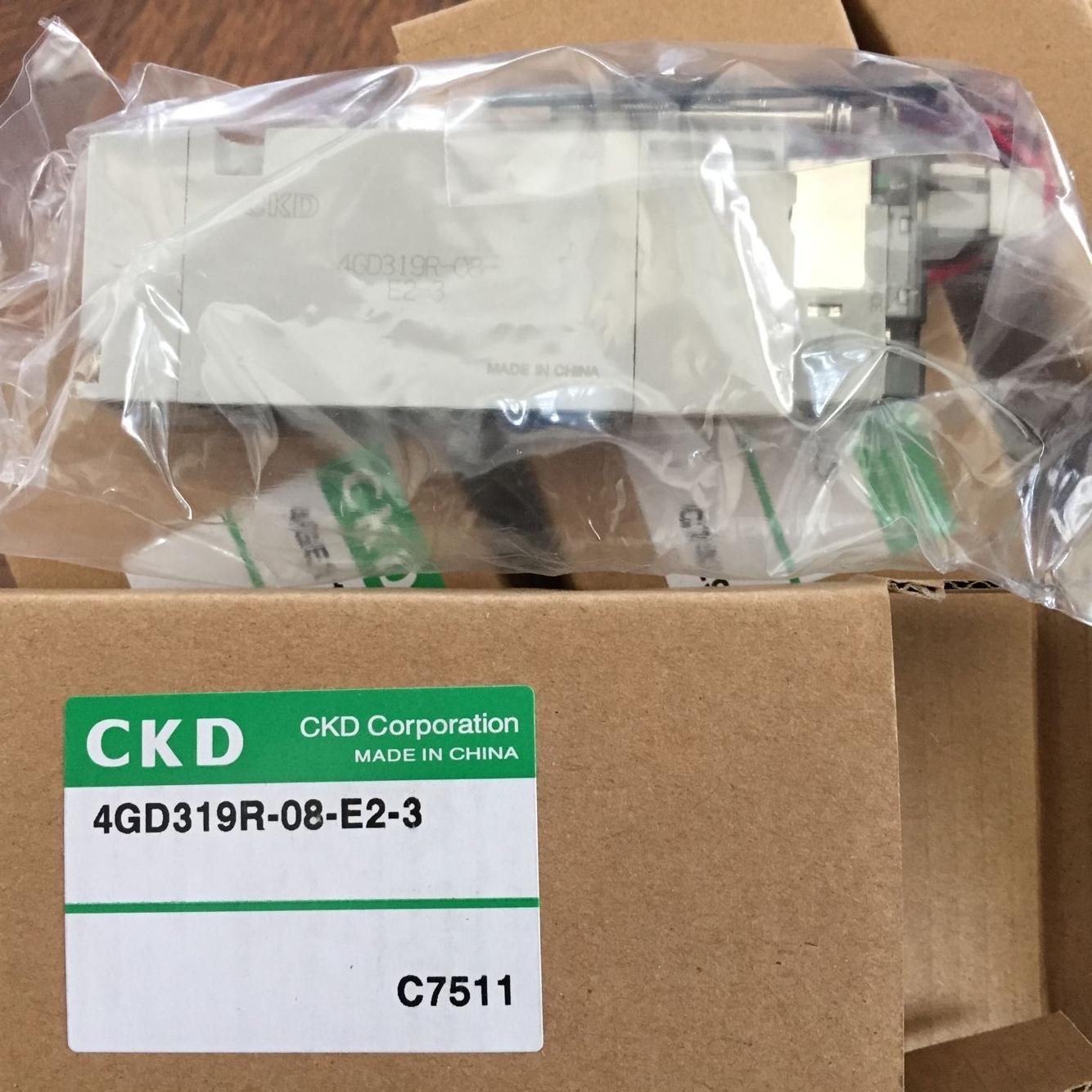 Van điện từ CKD 4GD319R-08-E2-3
