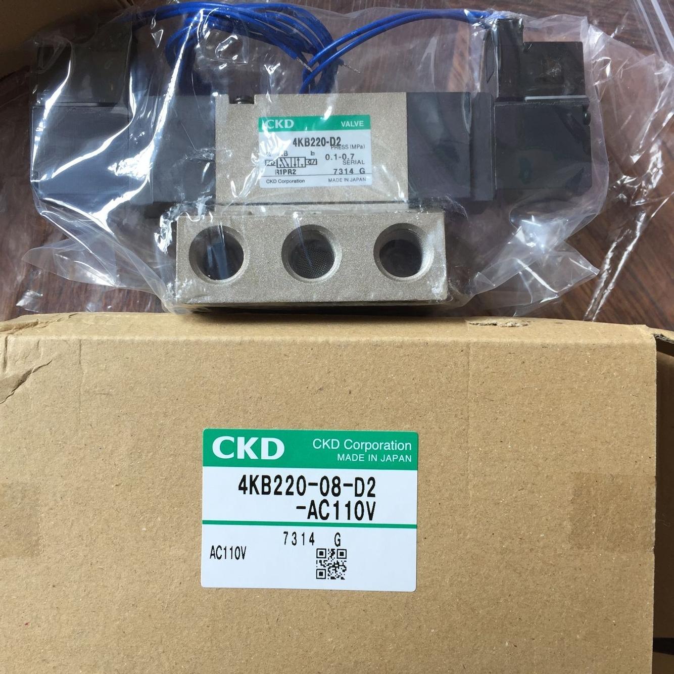 Van điện từ CKD 4KB220-08-D2-AC110V