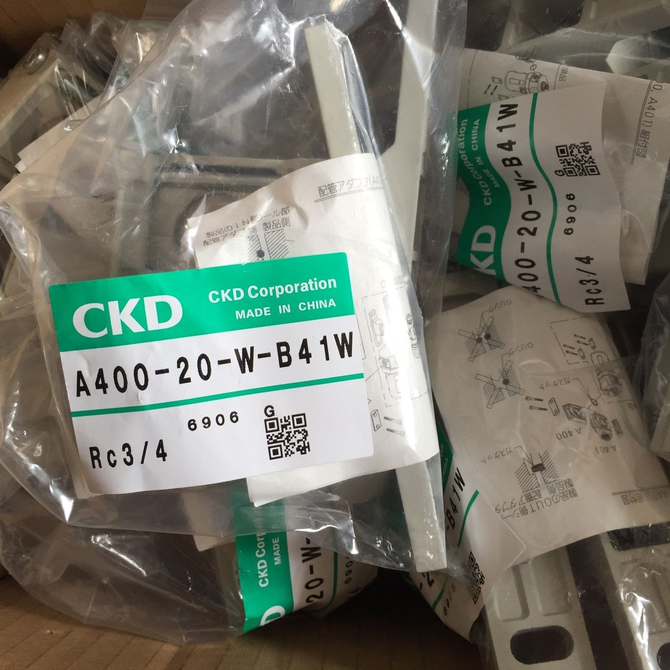 Van điện từ CKD A400-20-W-B41V