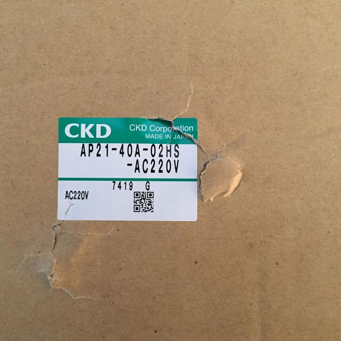 Van điện từ CKD AP21-40A-02HS-AC220V