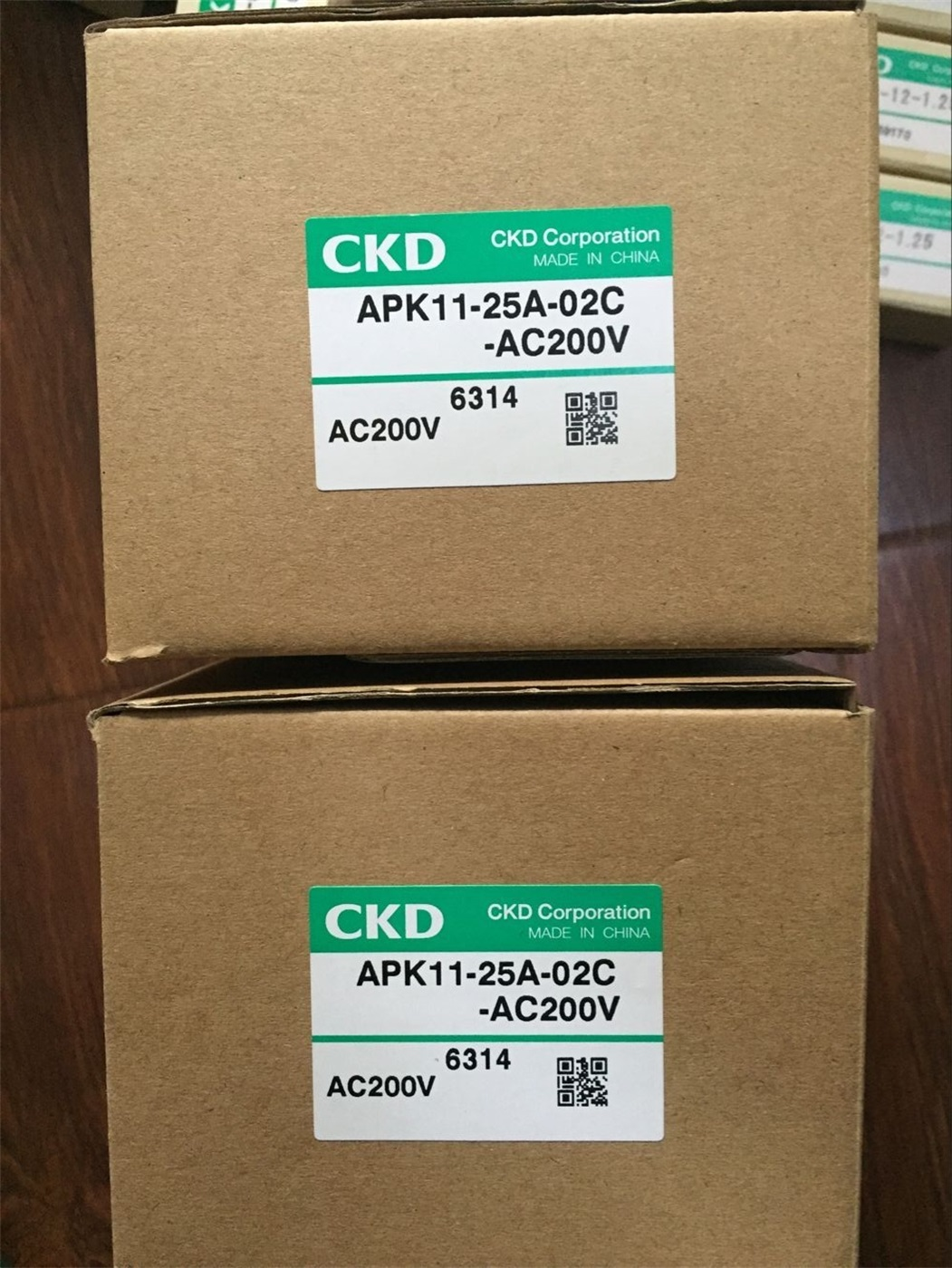 Van điện từ CKD APK11-25A-02C-AC200V