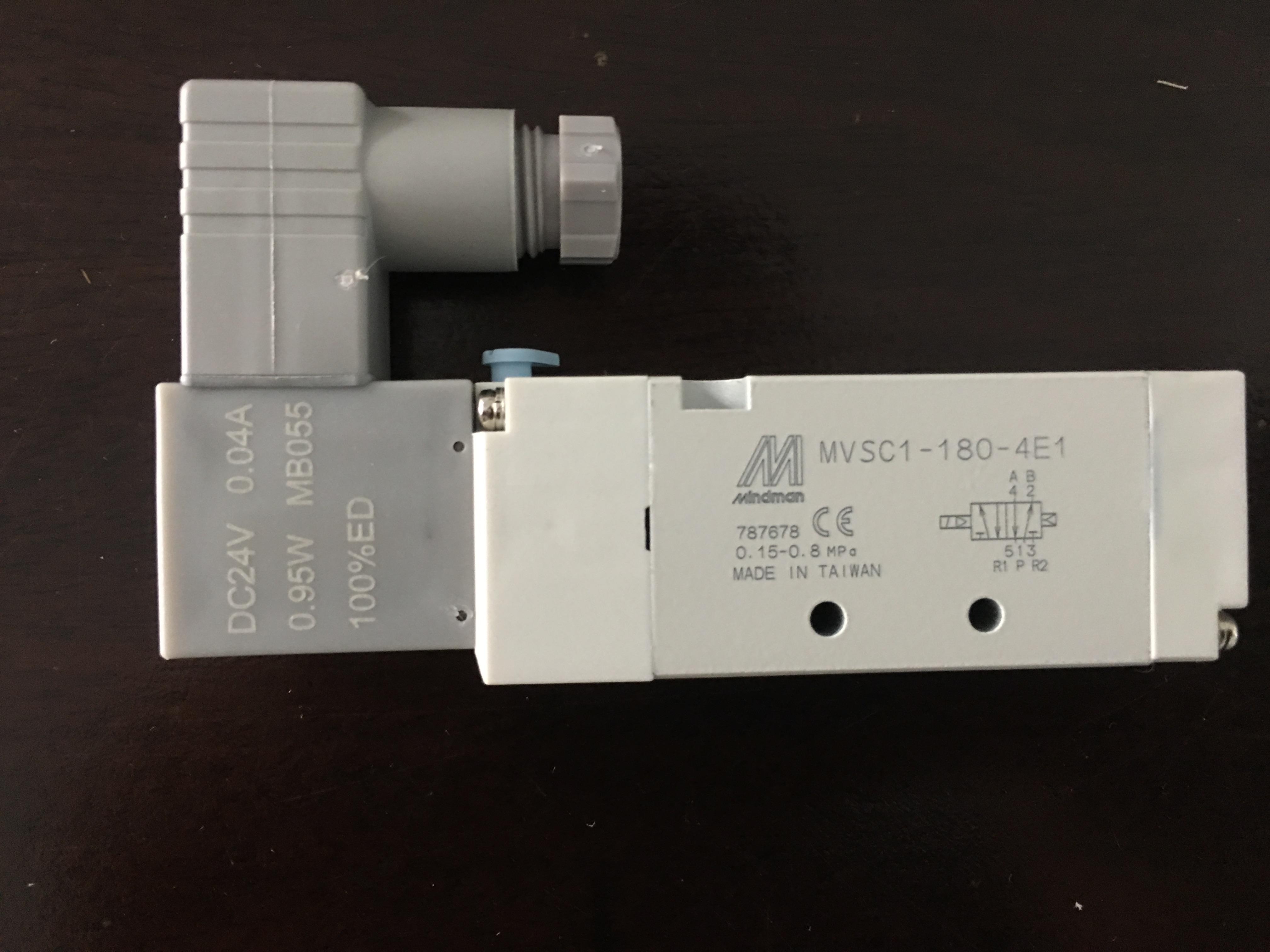 Van điện từ MINDMAN MVSC1-180-4E1-DC24-D
