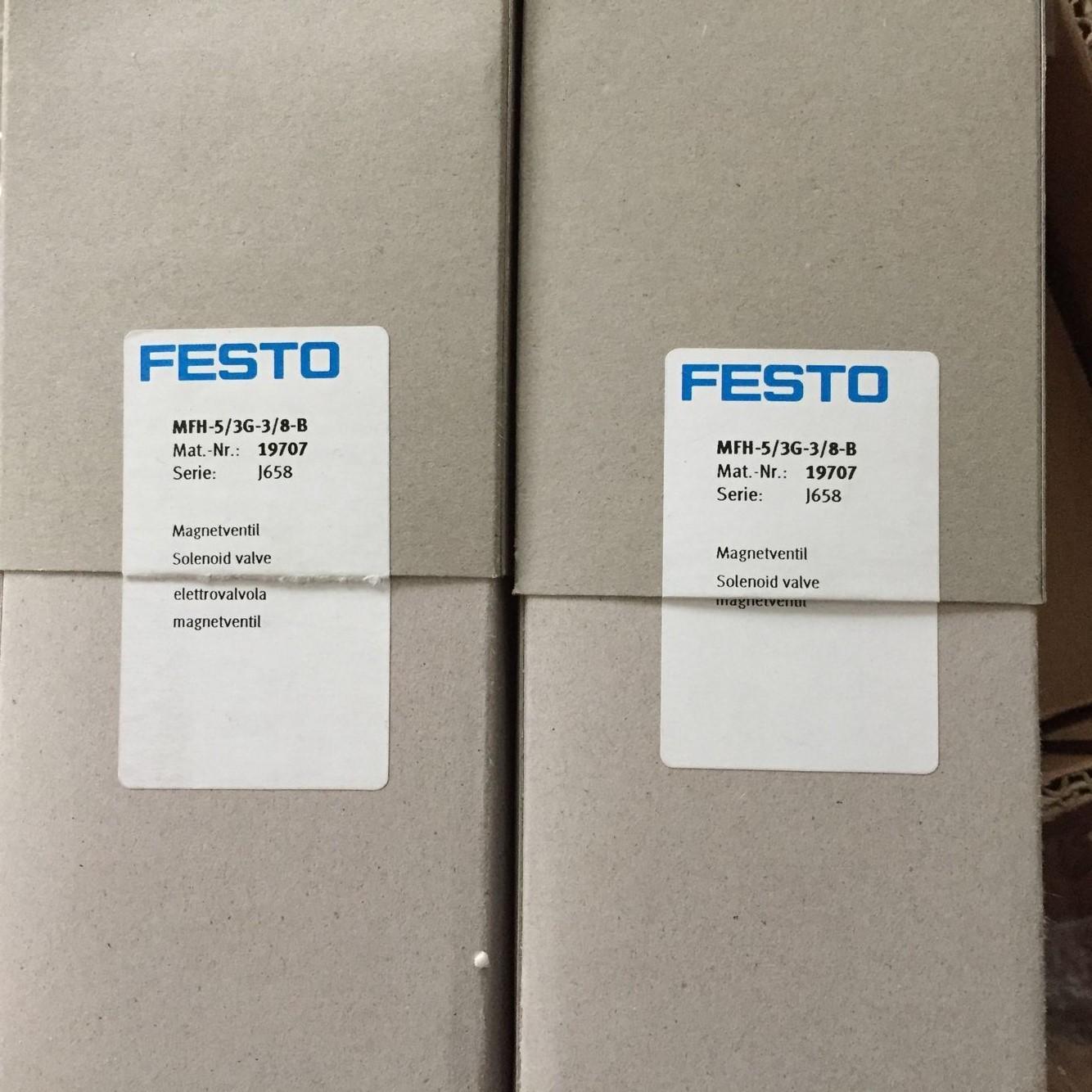 Van FESTO MFH-5/3G-3/8 -B 19707