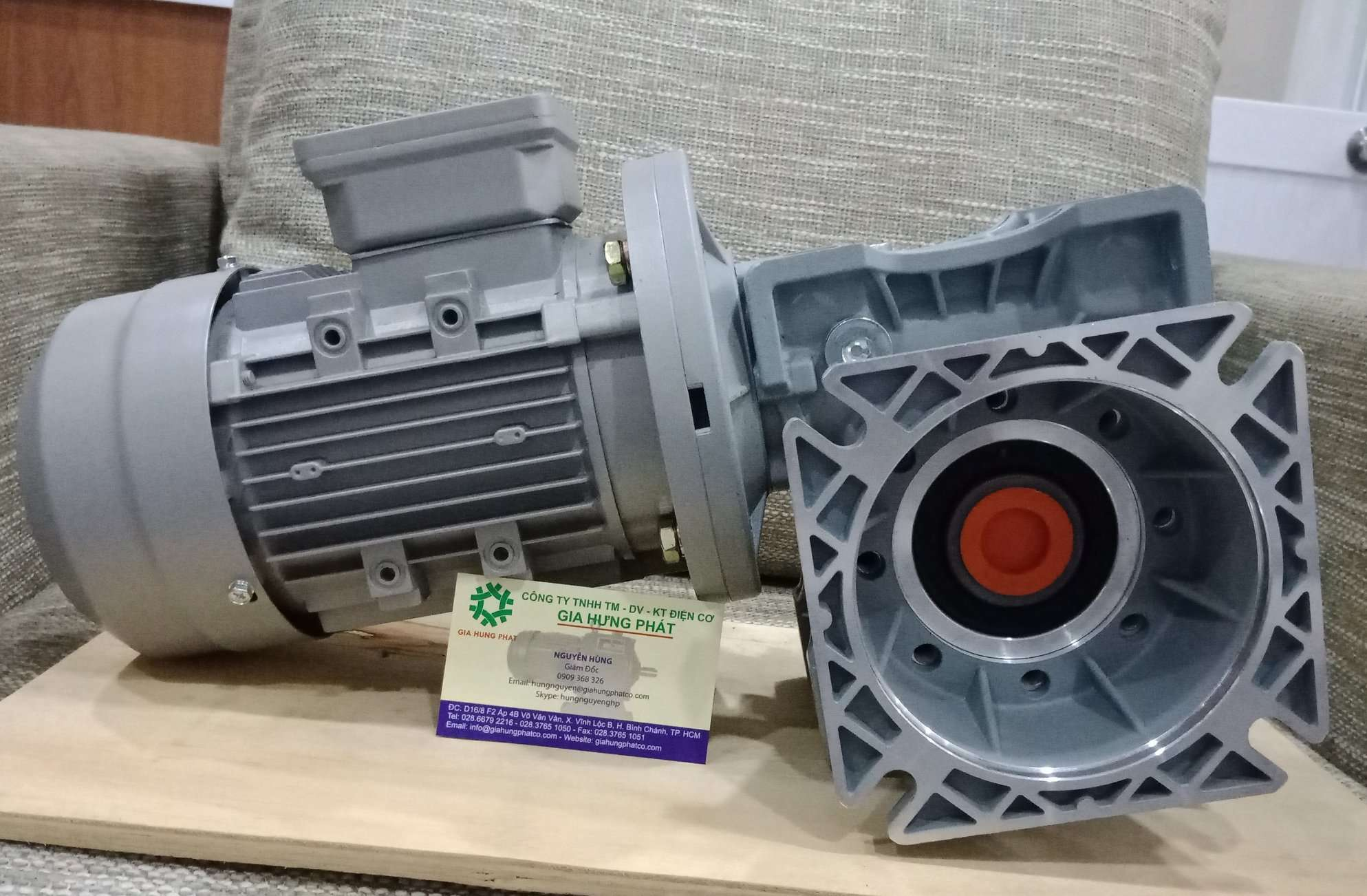 Motor hộp giảm tốc nhôm vuông góc VARIO size 075