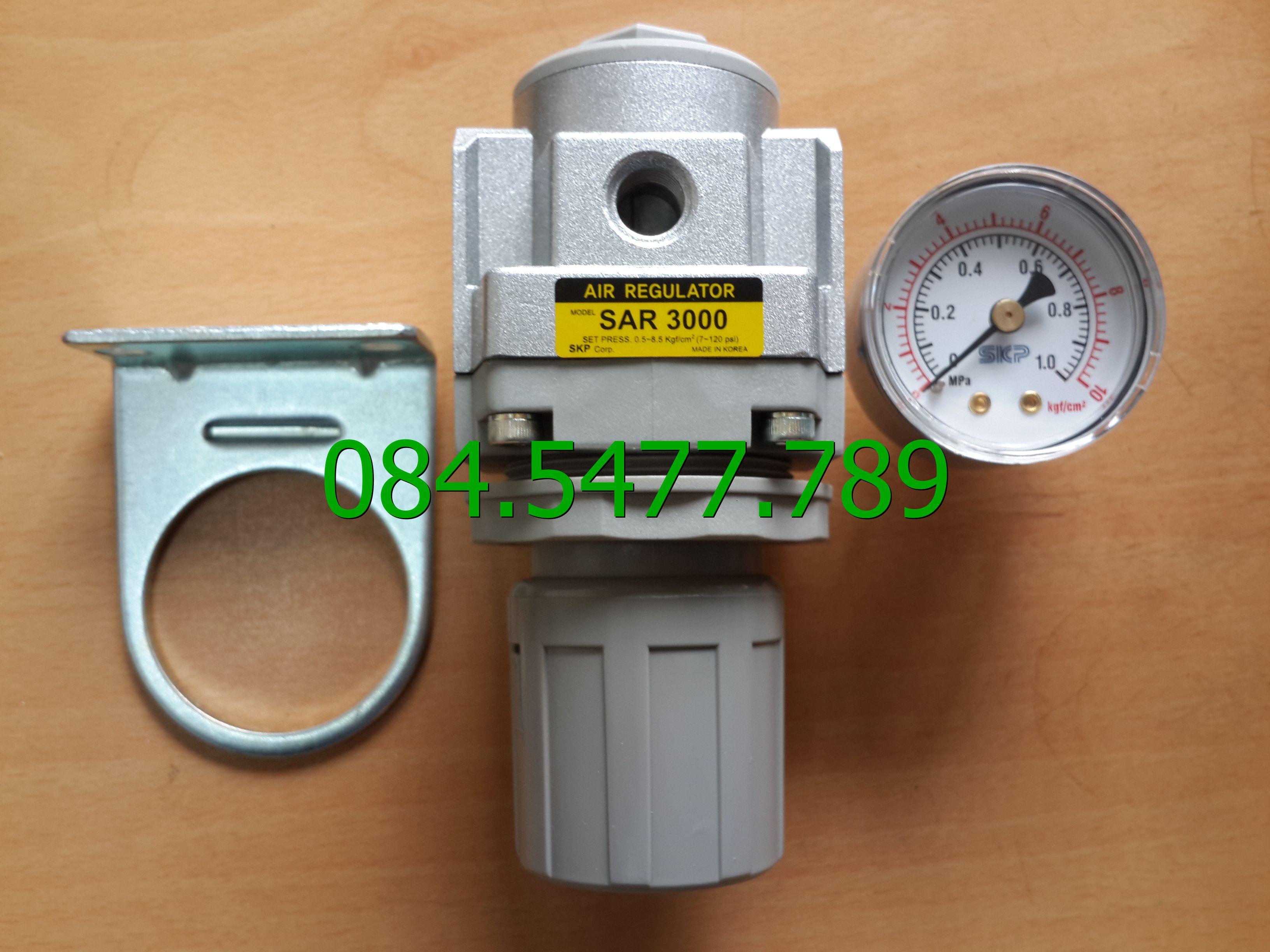 Bộ điều chỉnh áp suất khí nén SAR3000M-03BG