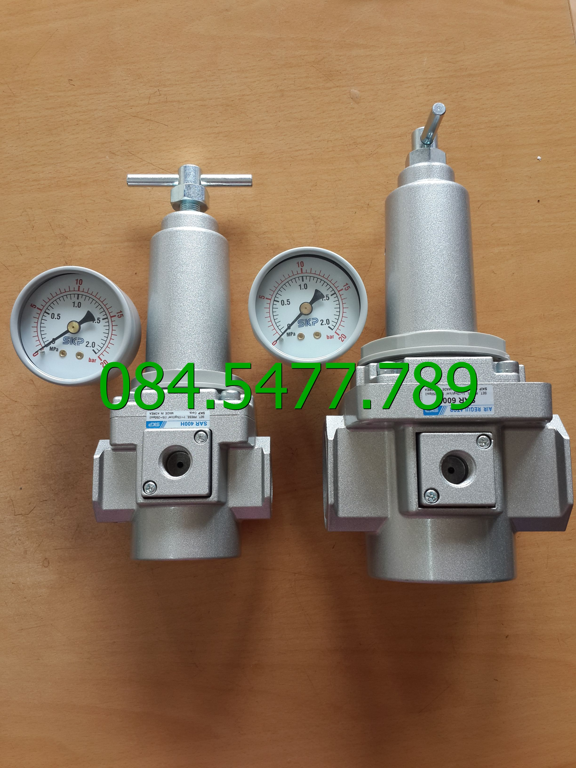 Bộ điều chỉnh áp suất khí nén SAR400H-04BG( áp 20kg)