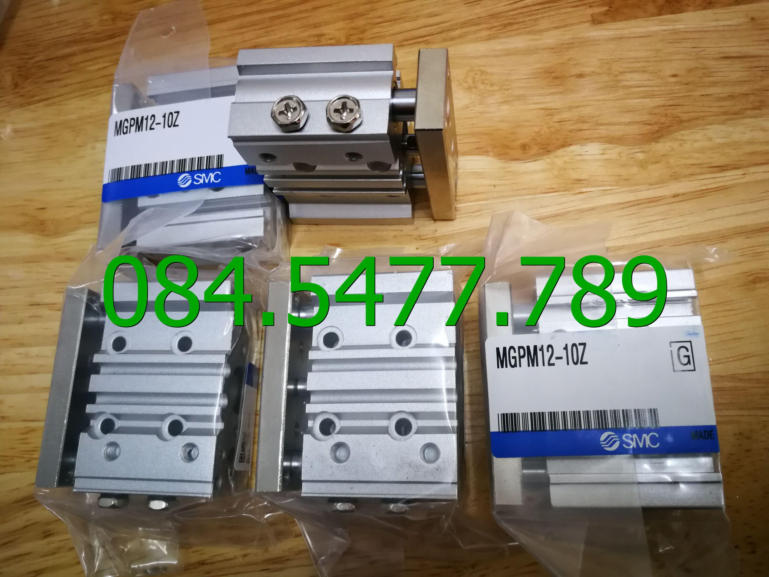 MGPM12x10z,MGPM Series -- Xi lanh 3 Ty Tác Động Kép - SMC