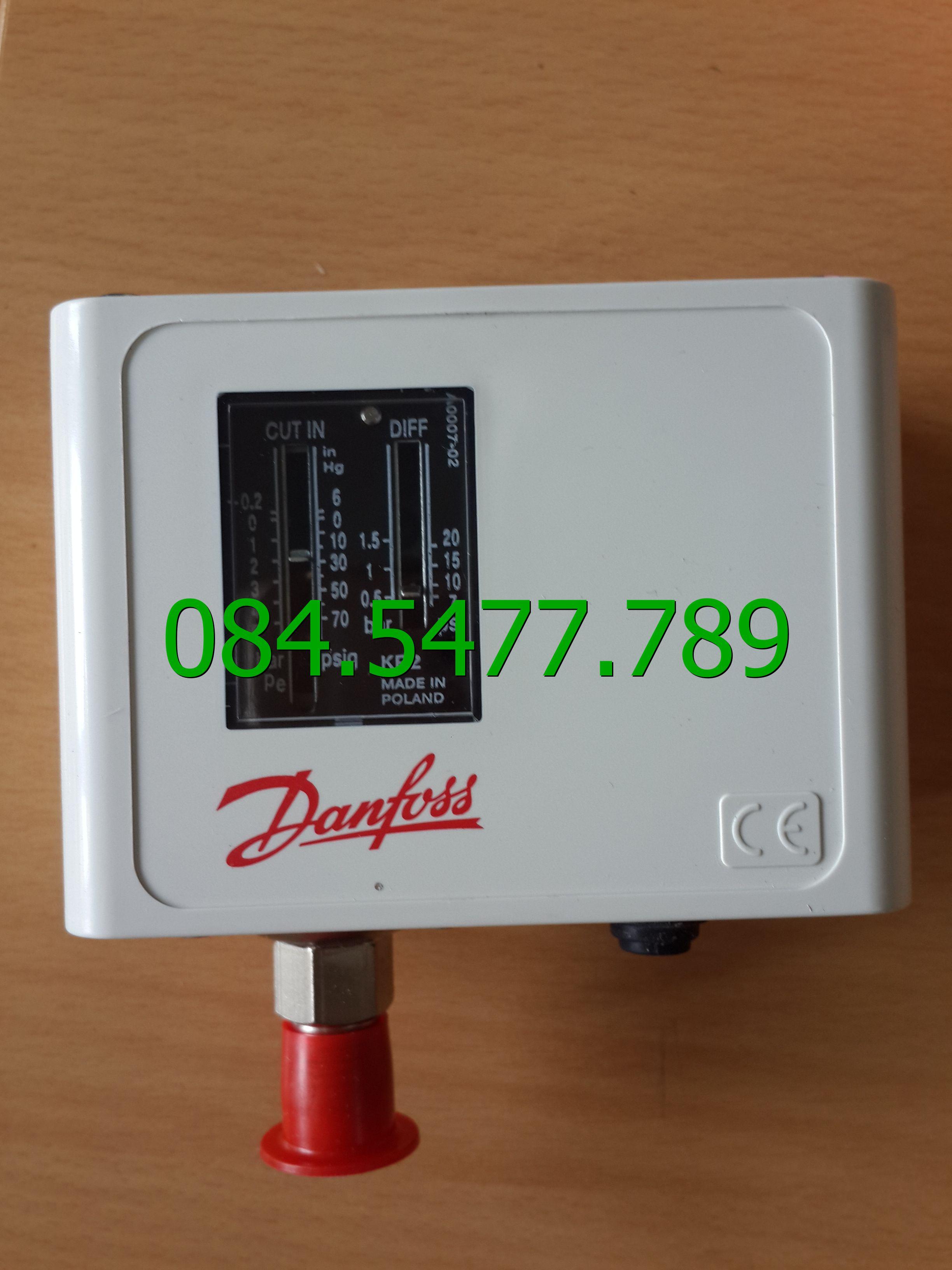 Thiết bị kiểm tra áp suất KP1 Danfoss