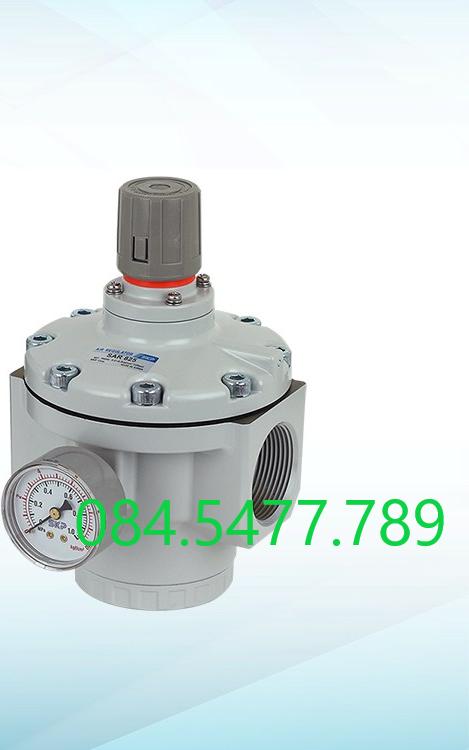 Van điều áp khí nén SKP SAR600-10BG (ren 34mm)