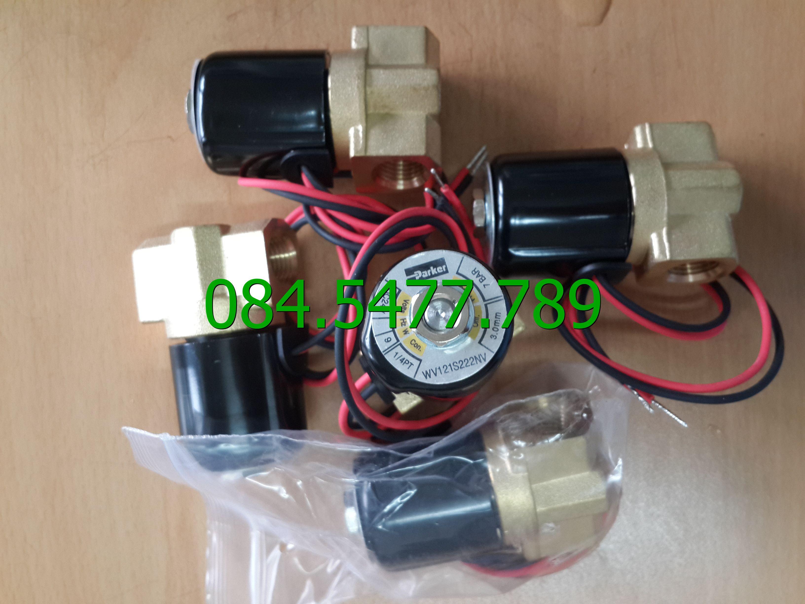 Van khí nén WV121S222NV-H-WS-B7 220VAC/60HZ(1/4''-7kg)