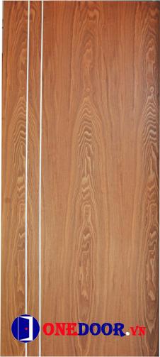 Cửa gỗ công nghiệp MDF Veneer OD.PC1-sapele